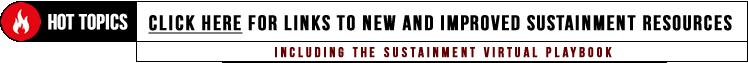 Hot Topics: Sustainment Resouces